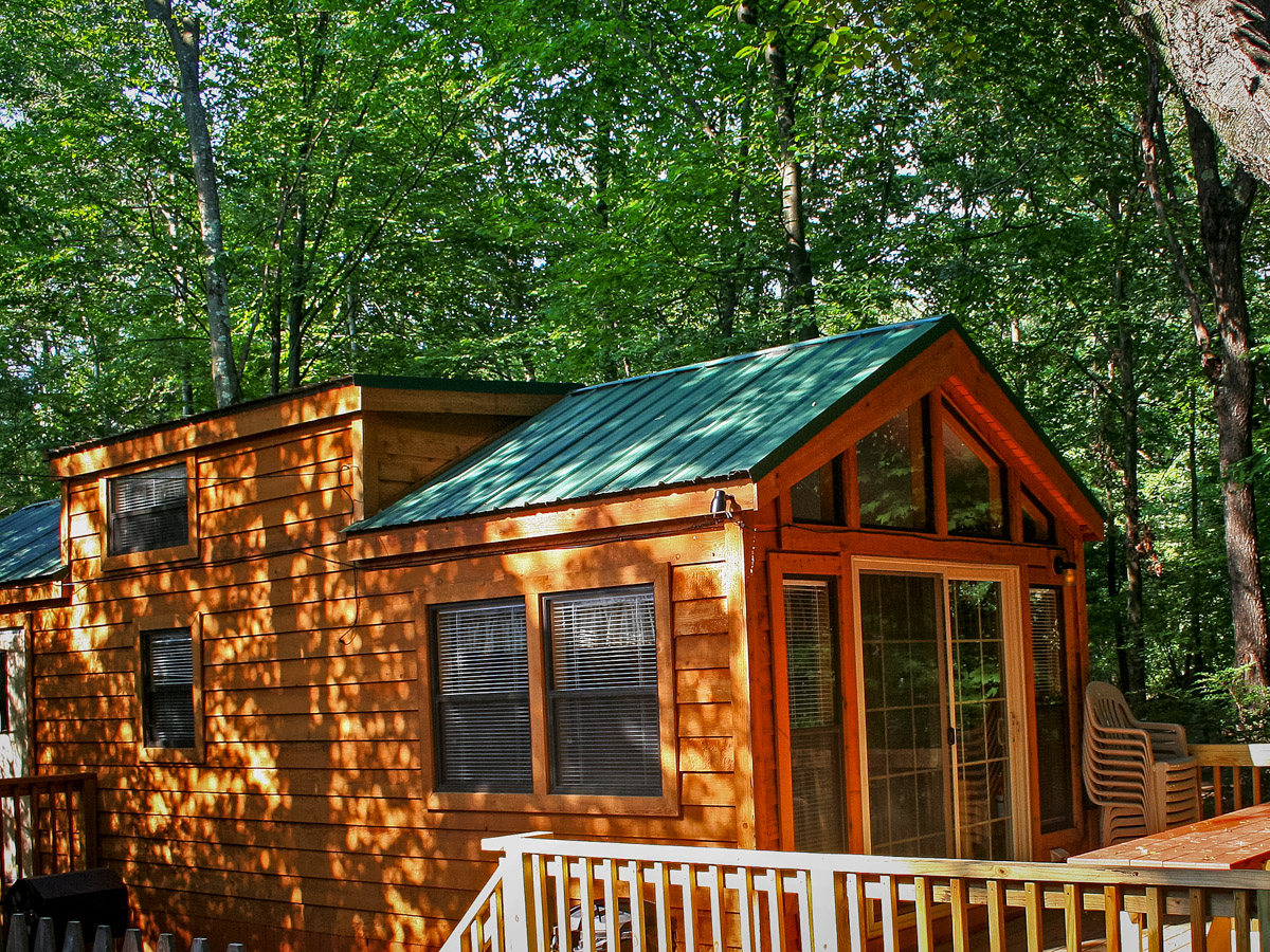 Deluxe Cabin With Sleeping Loft Indian Head