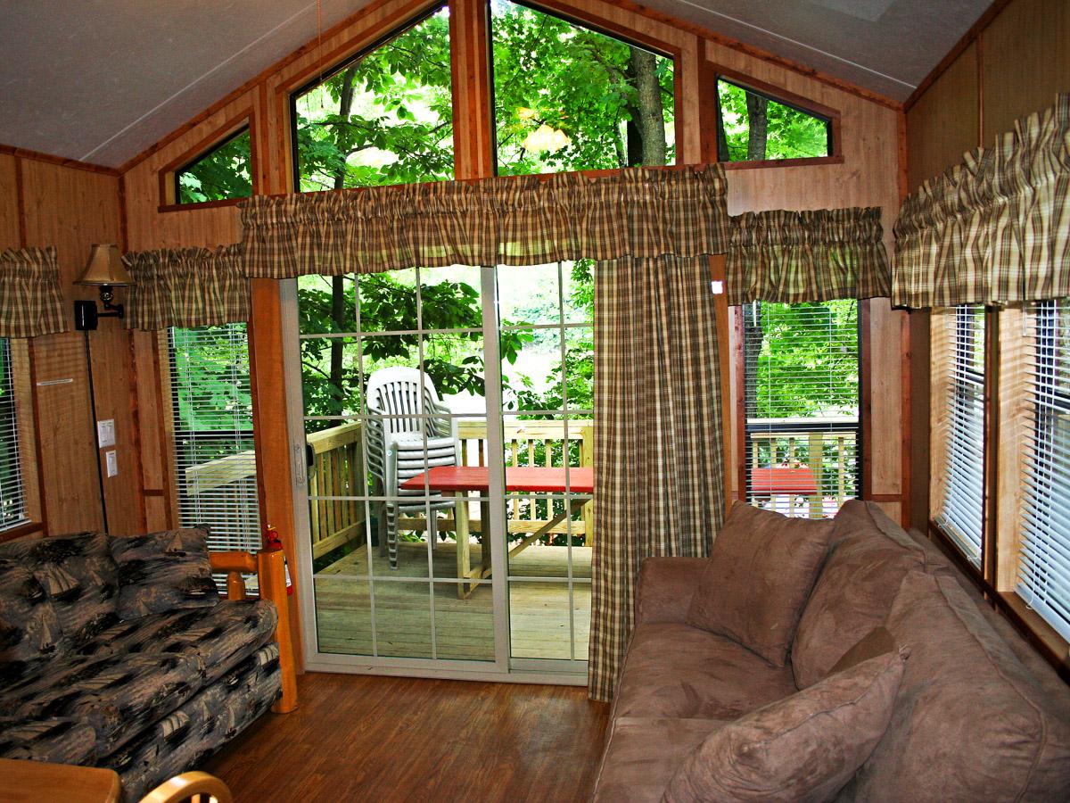 Deluxe Cabin With Sleeping Loft Indian Head