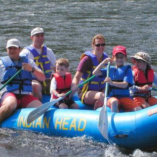 adults and children enjoy rafting Indian Head Canoeing Rafting Kayaking Tubing Delaware River