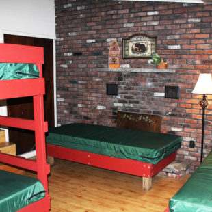 bunkbeds in bunk house Indian Head Canoeing Rafting Kayaking Tubing Delaware River